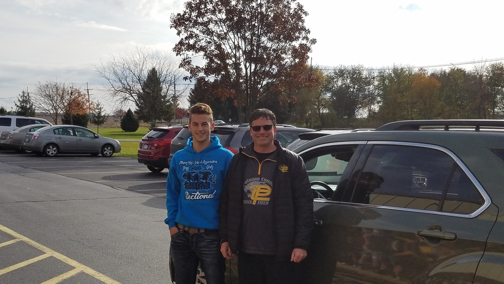 Michael Dzierzynski Headed to State in Cross Country