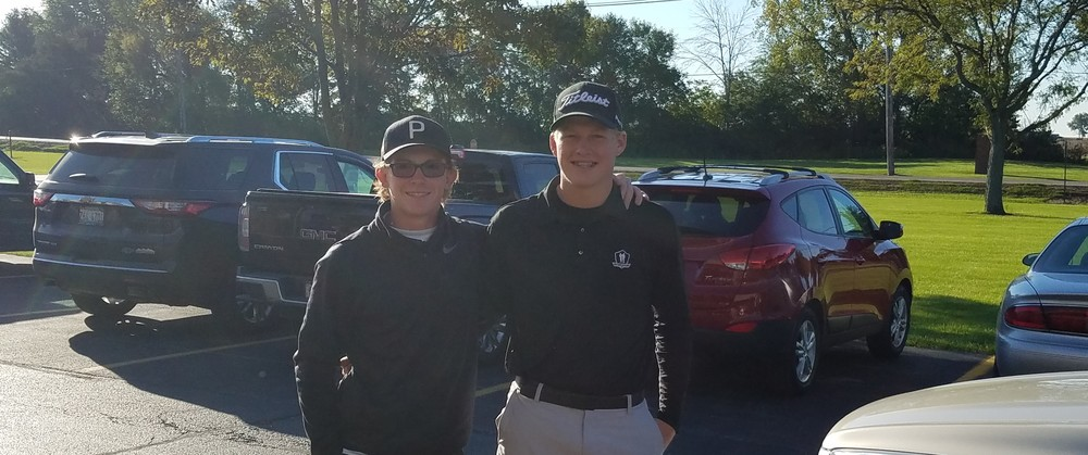 Ian Roach & Ben Cyr to State Golf Finals